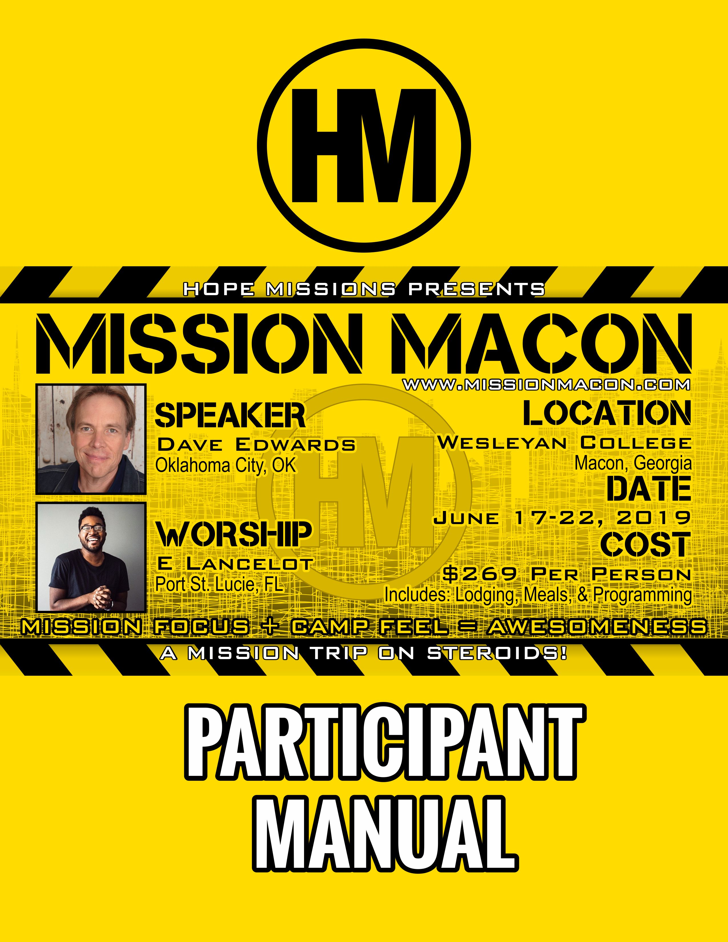 Mission Macon Manual