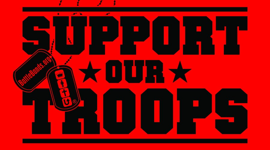 support our troops - Support Our Troops Silicone Bracelet