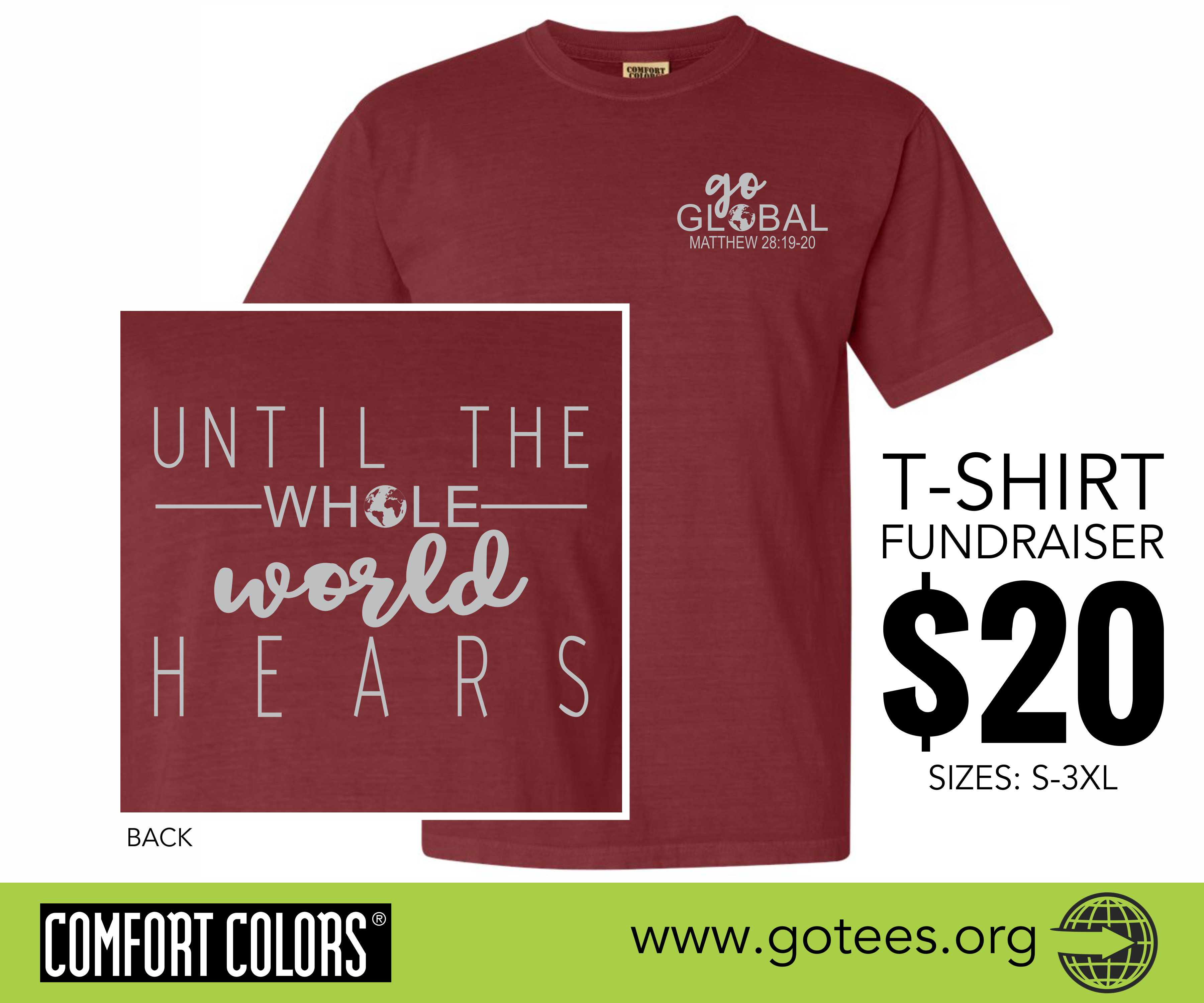 Shirt design cost - You May Want To Consider Our New Online Fundraiser Gotees Has The Capability To Produce Incredible T Shirt Fundraising Campaigns Online